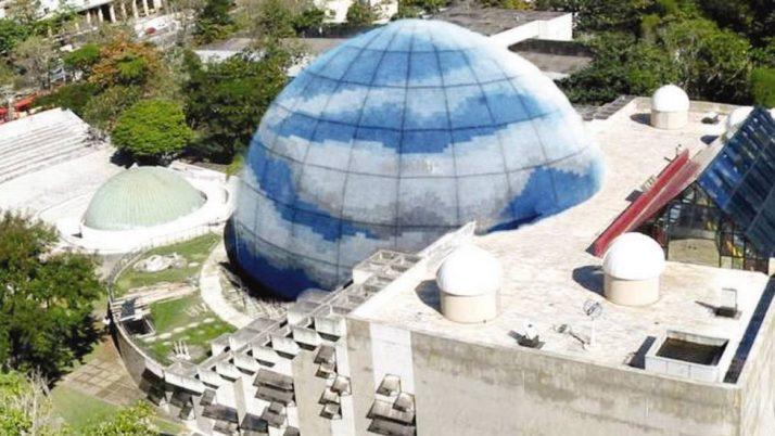 Vereador apresenta projeto de lei que preserva Planetário, na Gávea