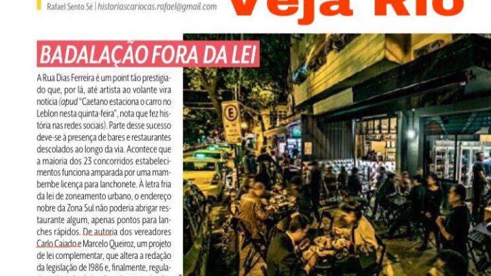 Projeto de lei de Caiado tem destaque na Veja Rio