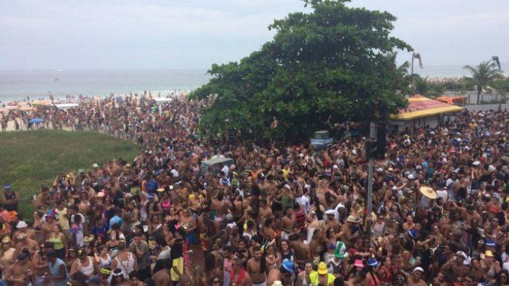 Projeto de lei cria áreas específicas para blocos de carnaval no Rio