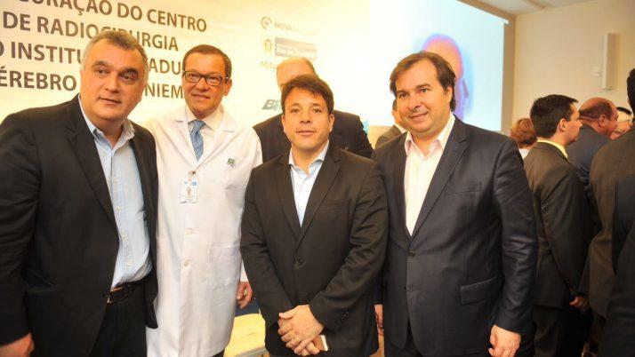 Inauguração do Centro de Radioterapia do Instituto Nacional do Cérebro