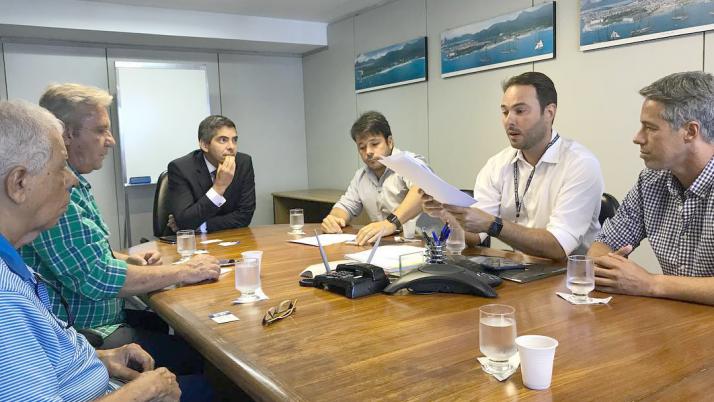 Reunião com Procurador Geral do Município para discutir possibilidades para melhorar trânsito na Barra