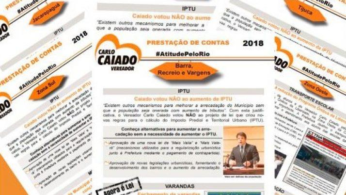 Jornal de Prestação de Contas 2018