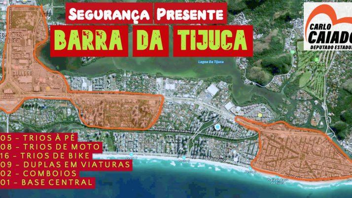 Segurança Presente passa a atuar esse mês na Barra