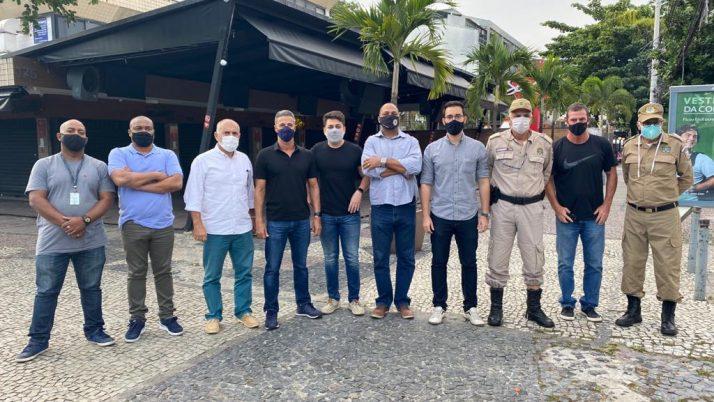 Patrulhamento permanente da Guarda Municipal na Olegário Maciel